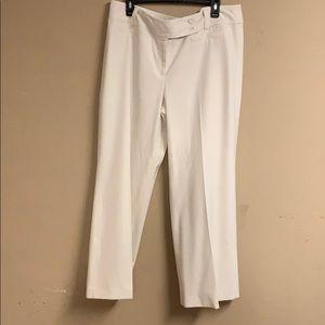 Pair of Ann Taylor white Slacks size 16